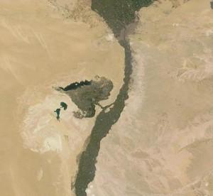 Joseph's Canal Faiyum Oasis