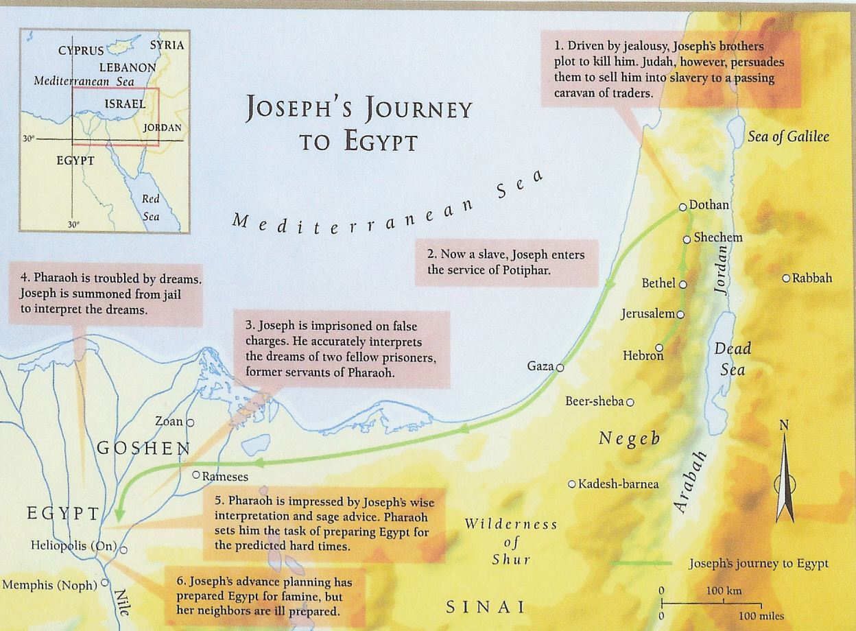 map-josephs-journey